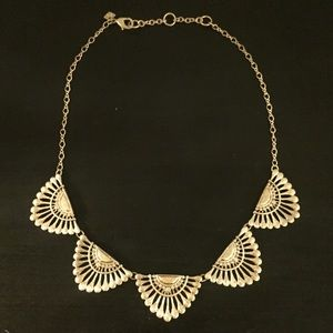 Banana Republic Gold Statement Necklace